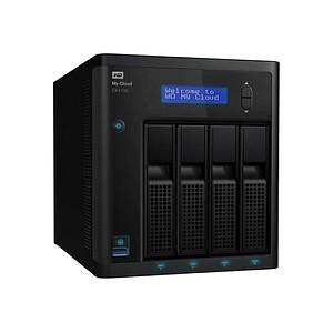 Western Digital My Cloud EX4100 16 TB Netzwerkfestplatte WDBWZE0160KBK-EESN