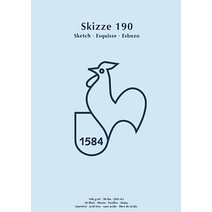 HAHNEMÜHLE Skizzenblock Skizze 190 DIN A3 60127434