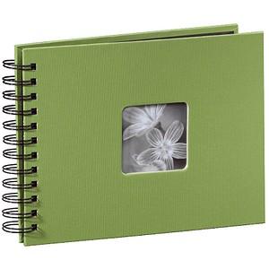 hama Fotoalbum Fine Art neutral 24,0 x 17,0 cm, 50 schwarze Seiten 94880