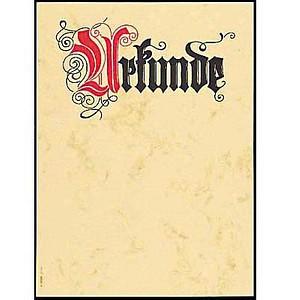 SIGEL Briefpapier Urkunde Motiv DIN A4 185 g/qm 12 Blatt DP548