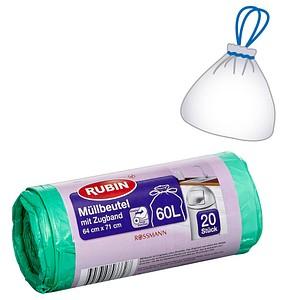 20 RUBIN Müllbeutel 60,0 l