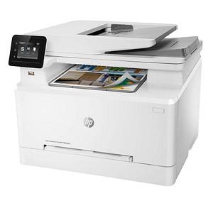 HP Color LaserJet Pro MFP M283fdn 4 in 1 Farblaser-Multifunktionsdrucker weiß