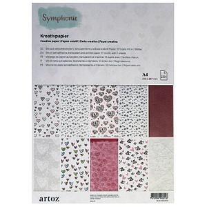 artoz Transparentpapier Kreativpapier farbsortiert DIN A4 100,0 - 210,0 g/qm 13-506696-26