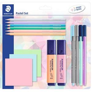 STAEDTLER Schreibset Pastel Set