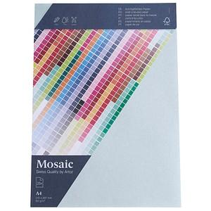 artoz Briefpapier Mosaic hellblau DIN A4 90 g/qm 25 Blatt 947925-411