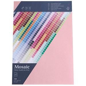 artoz Briefpapier Mosaic rosa DIN A4 90 g/qm 25 Blatt 947925-485