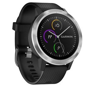 GARMIN vívoactive 3 Smartwatch schwarz, silber