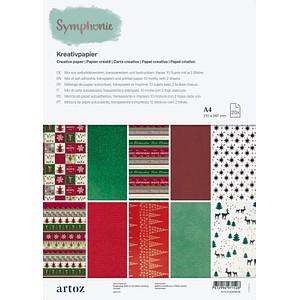 artoz Transparentpapier Kreativpapier farbsortiert DIN A4 100 - 210 g/qm 13-506696-28