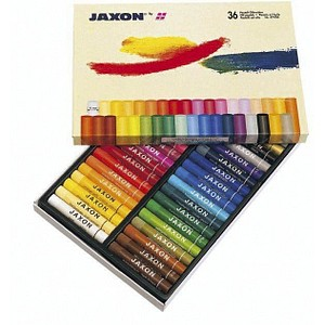 36 JAXON Ölkreide 47412 farbsortiert