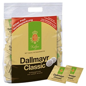Dallmayr Kaffee Classic Kaffeepads 100 Pads