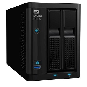 Western Digital My Cloud Pro PR2100 4 (2x2) TB Netzwerkfestplatte WD BBCL0040JBK