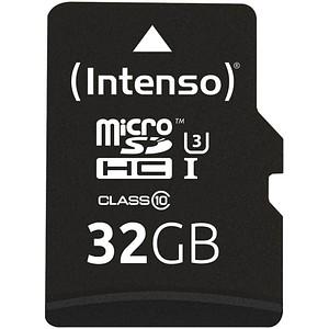 Intenso Speicherkarte microSDHC Professional 32 GB