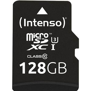 Intenso Speicherkarte microSDXC Professional 128 GB