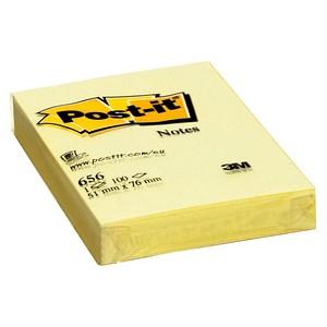 Post-it® Haftnotizen 656 gelb