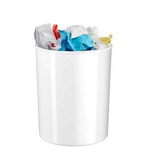 HAN ELEGANCE Papierkorb 20,0 l weiß