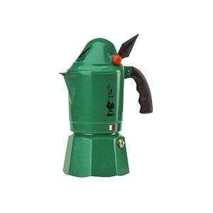 BIALETTI Moka Alpina 3 Espressokocher grün