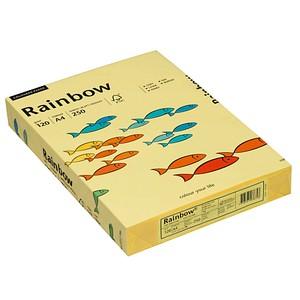 Rainbow Kopierpapier COLOURED PAPER gelb DIN A4 120 g/qm 250 Blatt