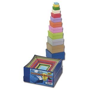 folia Geschenkboxen bunt 14,5 x 14,0 x 7,4 cm 3109