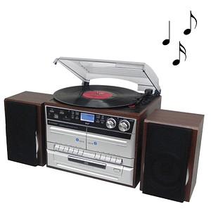 soundmaster MCD5550DBR HiFi-Anlage 2x 2,5 W (RMS)