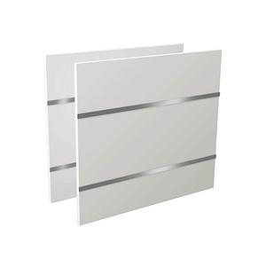 Kerkmann   Seitenblenden weiß 78,0 x 68,0 cm