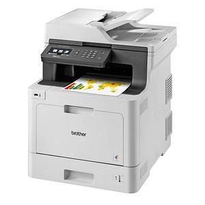brother MFC-L8690CDW 4 in 1 Farblaser-Multifunktionsdrucker grau