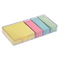 folia   Haftnotizen-Set   farbsortiert 1 Set mit Spender