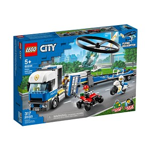 LEGO® City 60244 Polizeihubschrauber-Transport Bausatz
