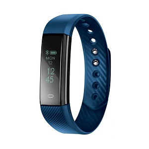 acme ACT101B Fitnesstracker blau, schwarz 208155