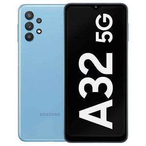 SAMSUNG Galaxy A32 5G Dual-SIM-Smartphone blau 128 GB
