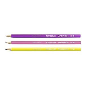 STAEDTLER WOPEX neon Bleistifte HB 3 St. 180F BK3-1