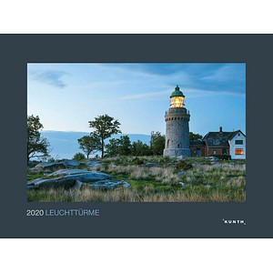 Kunth Monats-Wandkalender Leuchttürme 2020
