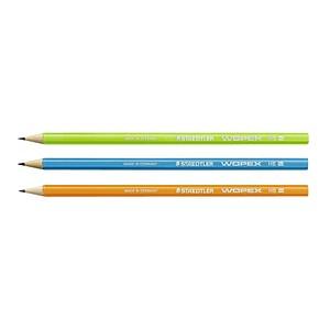 STAEDTLER WOPEX neon Bleistifte HB 3 St. 180F BK3-2