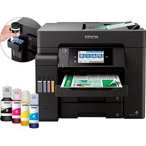 EPSON EcoTank ET-5850 4 in 1 Tintenstrahl-Multifunktionsdrucker schwarz