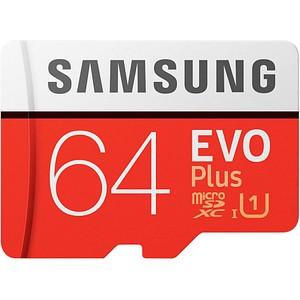 SAMSUNG Speicherkarte microSD EVO PLUS 64 GB MB-MC64HA/EU