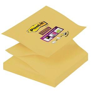 Post-it® Super Sticky Z-Notes Haftnotizen extrastark R33012SY gelb 1 St.