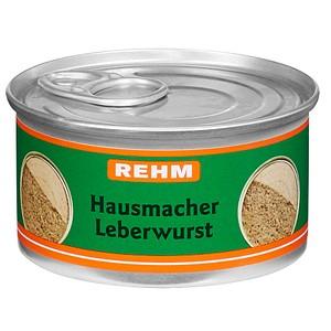 REHM Hausmacher Leberwurst Dosenwurst 125,0 g