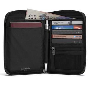 pacsafe Geldbörse RFIDsafe Compact grau