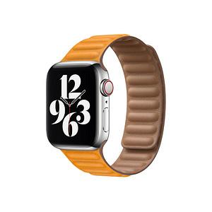 Apple Leather Link Smartwatch-Armband