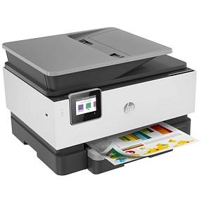 HP OfficeJet Pro 9010 All-in-One 4 in 1 Tintenstrahl-Multifunktionsdrucker grau