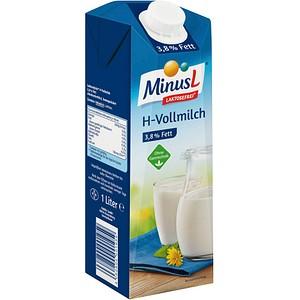 MinusL® H-Vollmilch laktosefreie Milch 1,0 l