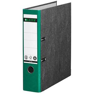 LEITZ 1080 Ordner grün marmoriert Karton 8,0 cm DIN A4