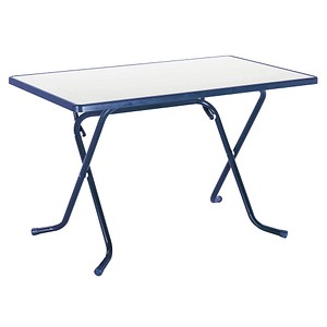 BEST Gartentisch Primo blau rechteckig