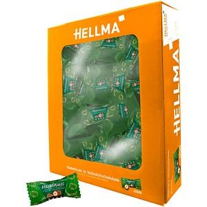 HELLMA Haselnuss mit Vollmilchschokolade Schokolade 380 St.