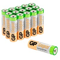 16 GP Batterien Mignon AA 1,5 V