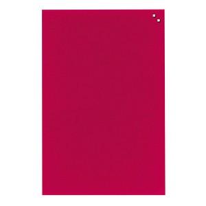FRANKEN Glas-Magnettafel 60,0 x 80,0 cm rot