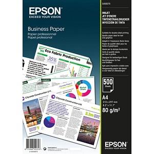 EPSON Inkjetpapier Business Papier DIN A4 80 g/qm C13S450075