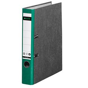 LEITZ 1050 Ordner grün marmoriert Karton 5,2 cm DIN A4