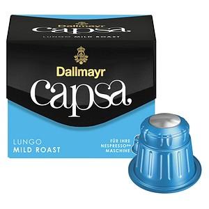 Dallmayr Kaffee Capsa Lungo Mild Roast Kaffeekapseln 10 Portionen