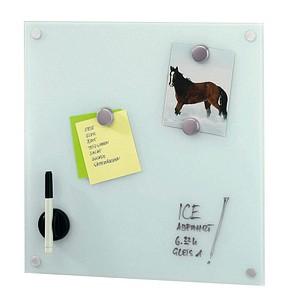 ZELLER Kreidemarker für Glasflächen Stift für Glas-Memoboard weiß