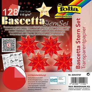 folia Faltblätter Bascetta-Stern Mini